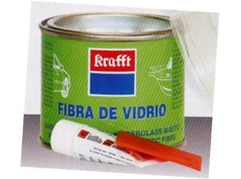 Masilla rep. fib/vidrio 250 ml carrocerias krafft