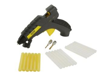 Pistola encolar termofusible 040 w con gatillo stanley