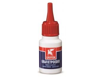 Grafito lubricante en polvo bote grafietpoeder griffon 10 gr