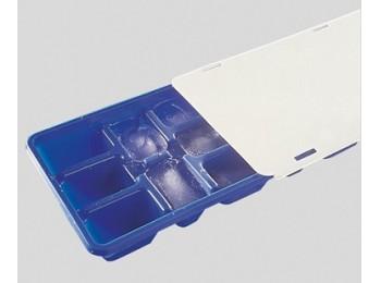 Bandeja cubitos hielo 25x10cm c/t plastico flexib. fackelman