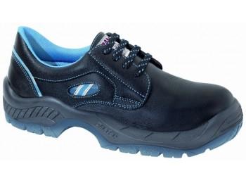 Zapato seg t38 s2 pu-tpu pun.plas diamante pl piel panter