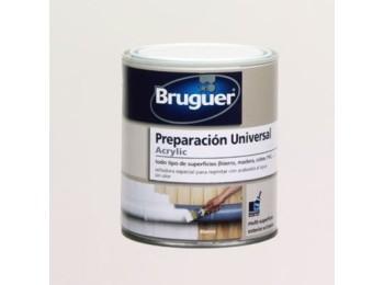 Pintura prep. mad 750 ml bl int/ext agua acril bruguer