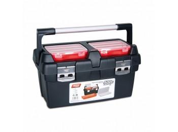 Caja herram 500x295x270mm asa y cierre alum pp nº500e tayg