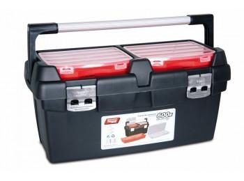 Caja herram 600x305x295mm asa y cierre alum pp nº600e tayg