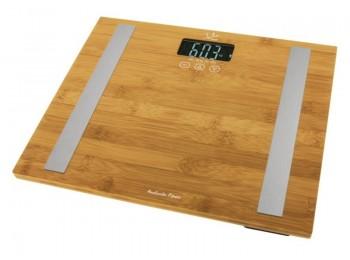 Bascula baÑo electr. 180kg bambu jata hogar