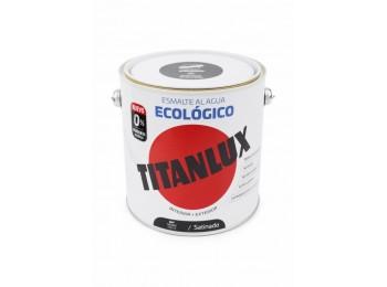 Esmalte acril sat. 2,5 lt ne al agua ecologico titanlux