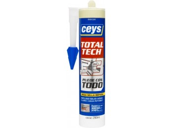 Adhesivo sellador polim 290 ml bei total tech xpress ceys