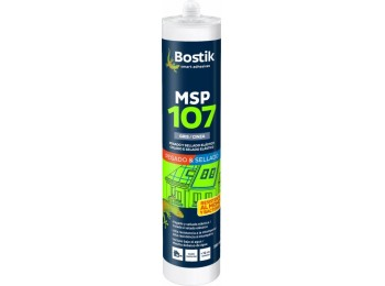 Adhesivo sellador polim 290 ml gr msp 107 express cart bosti