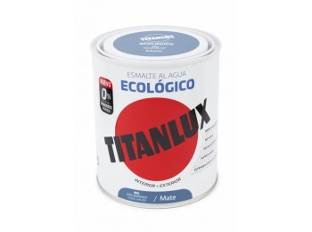 Esmalte acril mate 750 ml gr/mgo al agua ecologico titanlux
