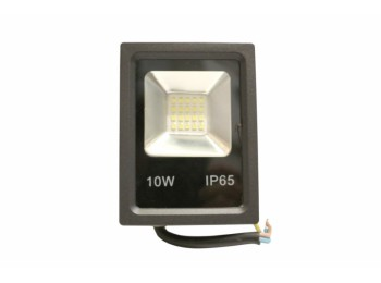 Proyector led plano 10w ip65 700lm 6000k met ne nivel