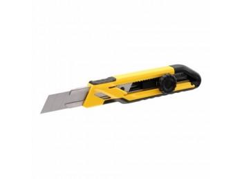 Cutter prof 18mm r/bloqueo hoja a/inox pp stanley