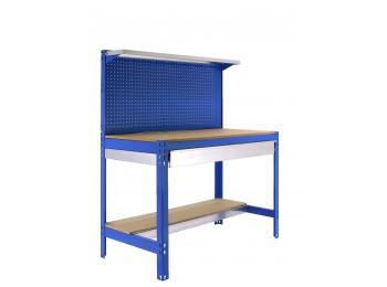 Kit Simonwork Bt3 Box 1500 Azul/madera 1445x1510x610