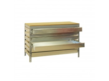 Kit Simonwork Bt5 Box6 900 Gris/madera 842x910x610