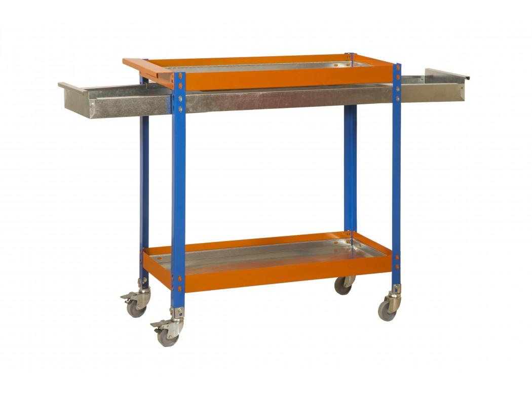 Kit Simonwork Wagon 2/400 Box Metalic Azul/nar/gal 1030x900x400