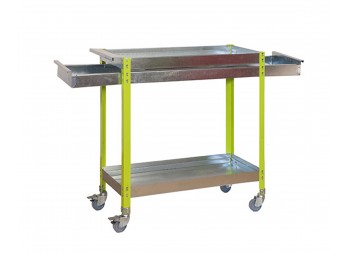Simongarden Wagon 2/400 Box Metalic Verde/galva 1030x900x400
