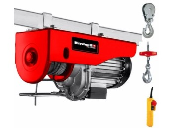 Polipasto elect 1000w 250-500kg 11,5mt  tc-eh 500 einhell