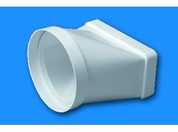 Manguito ex/aire tubo mixto ign/aut termop bl sist 100 tubpl