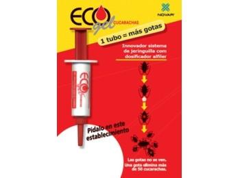 Cebo cucarachas gel ecogel jeringuilla 4012 5 gr