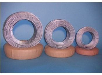 Cable acero galv 6x19+1 4mm especial gimnasio cursol 100 mt