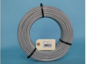 Cable acero galv 6x7+1 04mm recubierto pvc cursol 100 mt