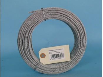 Cable acero galv 6x7+1 3mm cursol 15 mt