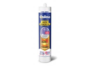 Silicona neutra co/baÑ 300 ml crem c/fung baÑo perfecto quil