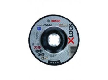 Disco corte metal concavo Ø 125x2,5 mm x-lock expert bosch