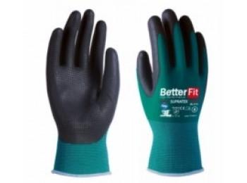 Guante mecanico l09 3l nylon/latex ve/ne bl-015 supra tex t-