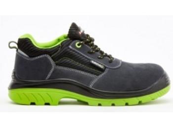 Zapato seg t45 s1p bellota serraje negra/verde comp+ pu/pl n