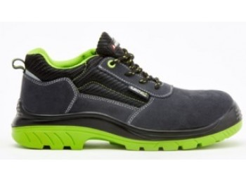 Zapato seg t39 s1p bellota serraje negra/verde comp+ pu/pl n
