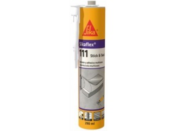 Adhesivo sellador polim 290 ml ne flex sikaflex-111 stick&se