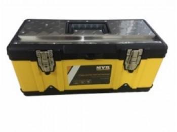 Caja herram 47x23,8x20,3cm c/met. in/pl 45 nivel