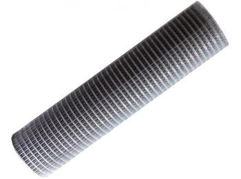Malla cerc electros. 19x19x0,7mm 1x5m acero pvc nivel