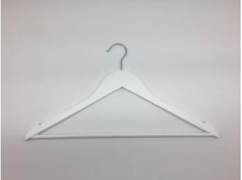 Percha armario 44,5x1,2x23cm plana vivahogar mad bl vh125222
