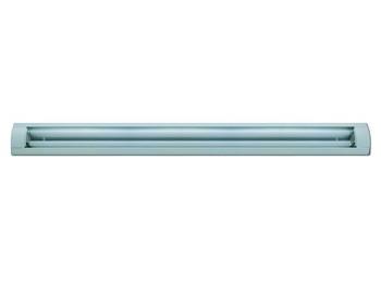Regleta ilumin 2x9w 1800lm 6400k ip20 73,5x15,8x5,5cm simon
