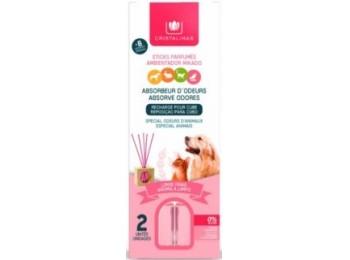 Ambientador hog 30ml aroma limpio cristali. rosa mikado abso