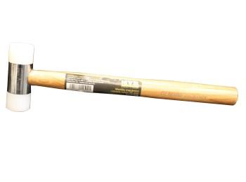 Martillo mecanico 25 mm cabeza nylon nivel m/mad nv127839