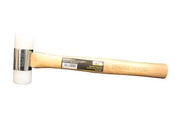 Martillo mecanico 35 mm cabeza nylon nivel m/mad nv127841
