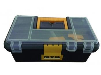 Caja herram 315x175x130cm band/estu pp gr/neg nivel