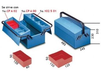 Caja herram 485x245x230mm met 102.7 heco