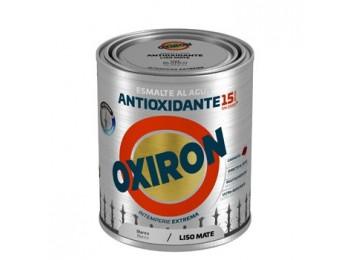 Esmalte antioxi. mate 750 ml bl ext. liso titan oxiron al ag