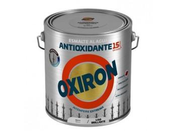 Esmalte antioxi. bri. 2,5 lt bl ext. liso titan oxiron al agua
