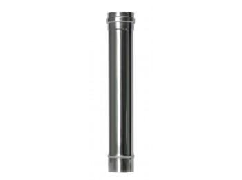 Tubo estufa pellet Ø80mm-100cm inox exojo