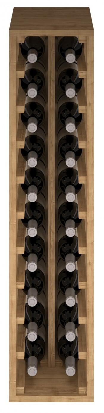 Expovinalia EX2032 botellero pino 20 botellas, serie godello, roble claro