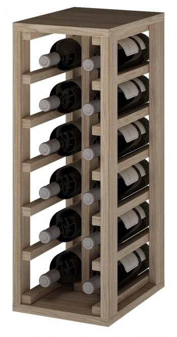 Expovinalia ER2010 botellero madera roble, 12 botellas, serie godello, ,