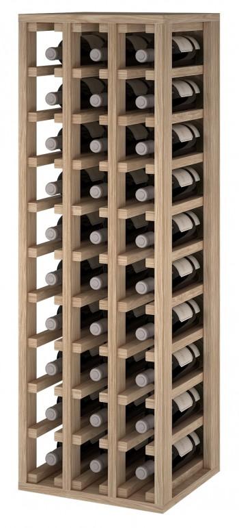 Expovinalia ER2033 botellero madera roble, 30 botellas, serie godello