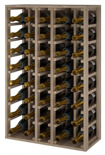 Expovinalia ER2062 botellero madera roble, 68 botellas, serie godello,