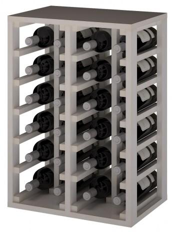 Expovinalia EW2014 botellero pino color blanco, 24 botellas, serie godello,