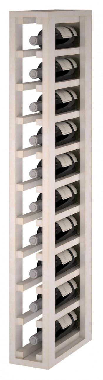 Expovinalia EW2031 botellero pino color blanco, 10 botellas, serie godello,