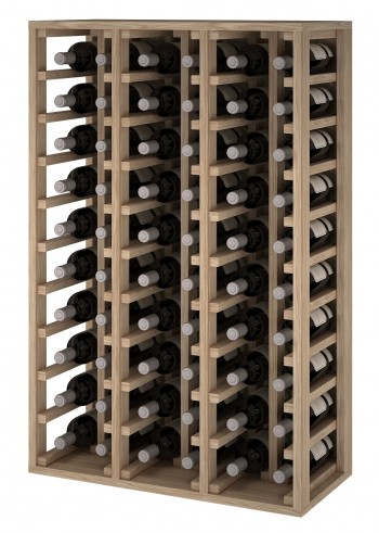 Expovinalia ER2060 botellero madera roble, 60 botellas, serie godello,